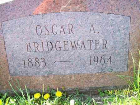 BRIDGEWATER, OSCAR A - Schuyler County, Illinois | OSCAR A BRIDGEWATER - Illinois Gravestone Photos