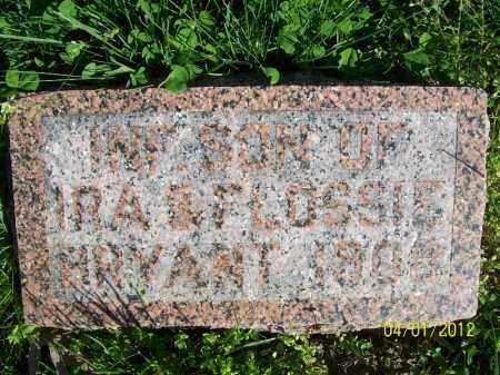 BRYANT, INFANT SON - Schuyler County, Illinois | INFANT SON BRYANT - Illinois Gravestone Photos