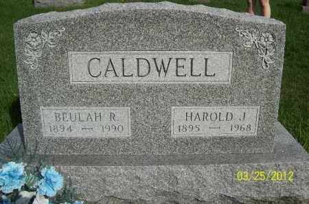 CALDWELL, BEULAH R - Schuyler County, Illinois | BEULAH R CALDWELL - Illinois Gravestone Photos