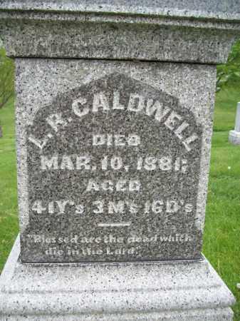 CALDWELL, L. R. - Schuyler County, Illinois | L. R. CALDWELL - Illinois Gravestone Photos