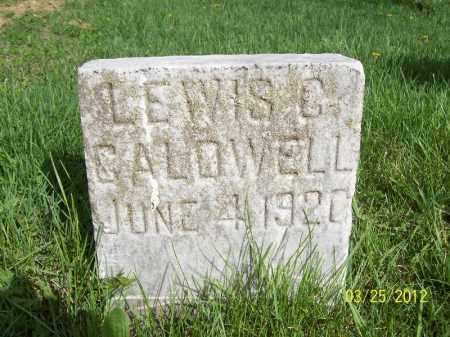 CALDWELL, LEWIS C - Schuyler County, Illinois | LEWIS C CALDWELL - Illinois Gravestone Photos