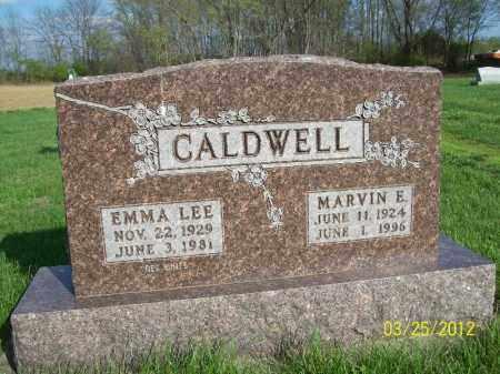 CALDWELL, MARVIN E - Schuyler County, Illinois | MARVIN E CALDWELL - Illinois Gravestone Photos