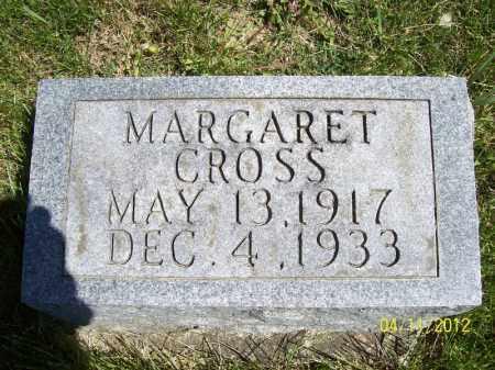 CROSS, MARGARET - Schuyler County, Illinois | MARGARET CROSS - Illinois Gravestone Photos