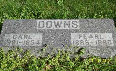 DOWNS, PEARL - Schuyler County, Illinois | PEARL DOWNS - Illinois Gravestone Photos