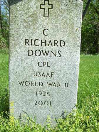 DOWNS, C RICHARD - Schuyler County, Illinois | C RICHARD DOWNS - Illinois Gravestone Photos
