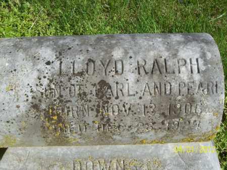 DOWNS, LLOYD RALPH - Schuyler County, Illinois | LLOYD RALPH DOWNS - Illinois Gravestone Photos