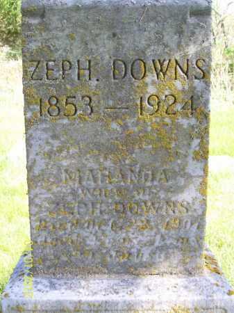 DOWNS, MARANDA - Schuyler County, Illinois | MARANDA DOWNS - Illinois Gravestone Photos