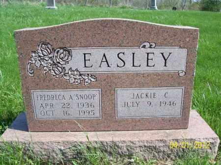 EASLEY, JACKIE C - Schuyler County, Illinois | JACKIE C EASLEY - Illinois Gravestone Photos