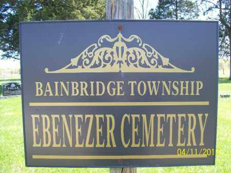 ***EBENEZER, CEMETERY*** - Schuyler County, Illinois | CEMETERY*** ***EBENEZER - Illinois Gravestone Photos
