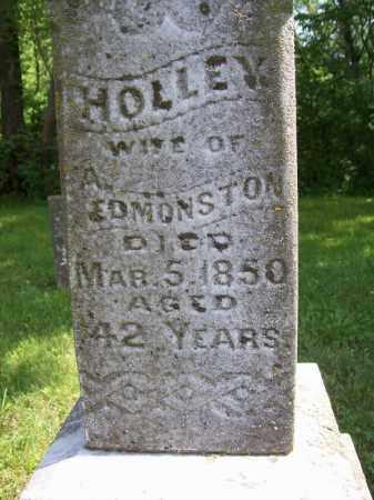 EDMONSTON, HOLLEY - Schuyler County, Illinois | HOLLEY EDMONSTON - Illinois Gravestone Photos