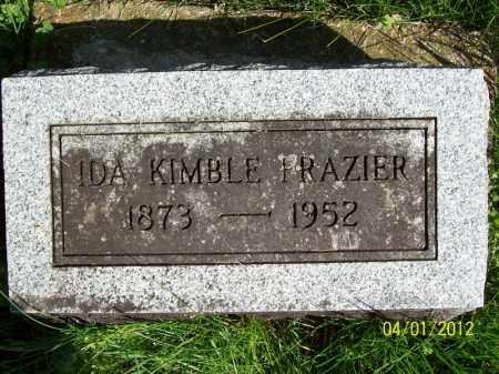 FRAZIER, IDA - Schuyler County, Illinois | IDA FRAZIER - Illinois Gravestone Photos