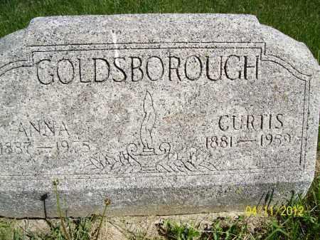 GOLDSBOROUGH, HARVEY CURTIS - Schuyler County, Illinois | HARVEY CURTIS GOLDSBOROUGH - Illinois Gravestone Photos