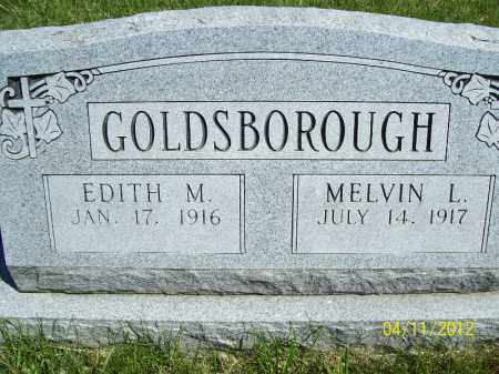 GOLDSBOROUGH, EDITH M - Schuyler County, Illinois   EDITH M GOLDSBOROUGH - Illinois Gravestone Photos