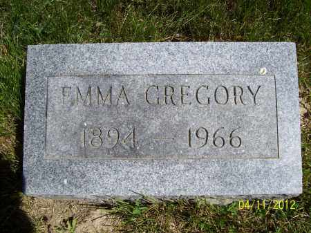 GREGORY, EMMA - Schuyler County, Illinois | EMMA GREGORY - Illinois Gravestone Photos