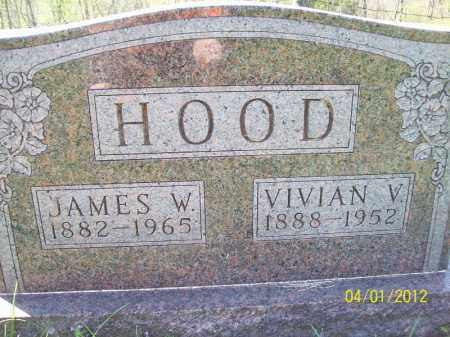 HOOD, JAMES W - Schuyler County, Illinois   JAMES W HOOD - Illinois Gravestone Photos