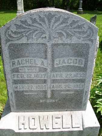PARKER HOWELL, RACHEL A. - Schuyler County, Illinois | RACHEL A. PARKER HOWELL - Illinois Gravestone Photos