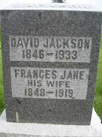 JACKSON, FRANCES JANE - Schuyler County, Illinois   FRANCES JANE JACKSON - Illinois Gravestone Photos