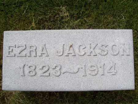JACKSON, EZRA - Schuyler County, Illinois | EZRA JACKSON - Illinois Gravestone Photos
