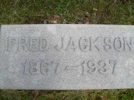JACKSON, FRED - Schuyler County, Illinois | FRED JACKSON - Illinois Gravestone Photos