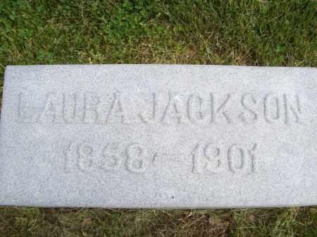 JACKSON, LAURA - Schuyler County, Illinois | LAURA JACKSON - Illinois Gravestone Photos