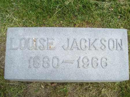 JACKSON, LOUISE - Schuyler County, Illinois   LOUISE JACKSON - Illinois Gravestone Photos