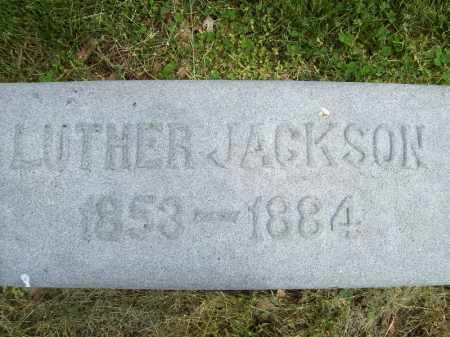 JACKSON, LUTHER - Schuyler County, Illinois | LUTHER JACKSON - Illinois Gravestone Photos