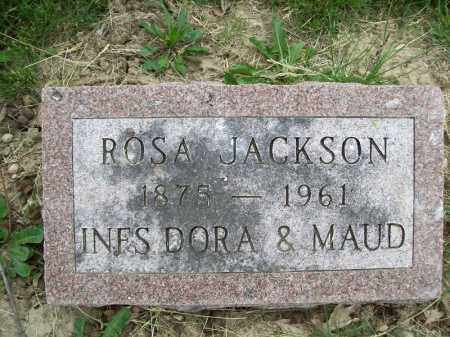 JACKSON, ROSA - Schuyler County, Illinois | ROSA JACKSON - Illinois Gravestone Photos