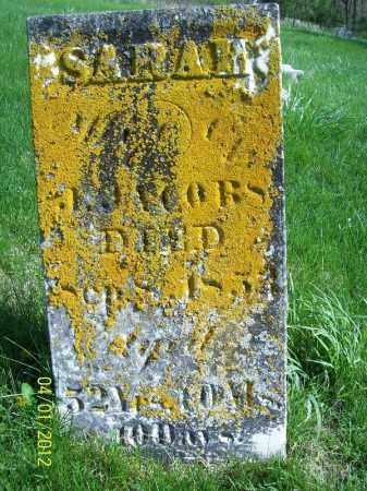 JACOBS, SARAH - Schuyler County, Illinois   SARAH JACOBS - Illinois Gravestone Photos