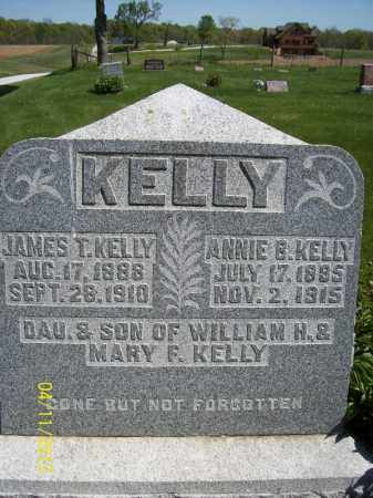 KELLY, JAMES T. - Schuyler County, Illinois   JAMES T. KELLY - Illinois Gravestone Photos