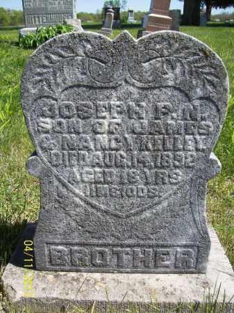 KELLEY, JOSEPH P. N. - Schuyler County, Illinois   JOSEPH P. N. KELLEY - Illinois Gravestone Photos