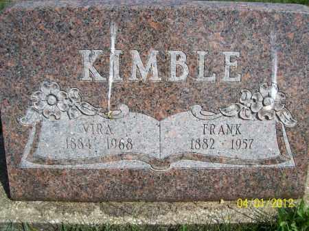 KIMBLE, FRANK - Schuyler County, Illinois | FRANK KIMBLE - Illinois Gravestone Photos