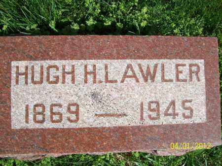LAWLER, HUGH H - Schuyler County, Illinois   HUGH H LAWLER - Illinois Gravestone Photos