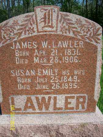 LAWLER, JAMES W - Schuyler County, Illinois   JAMES W LAWLER - Illinois Gravestone Photos