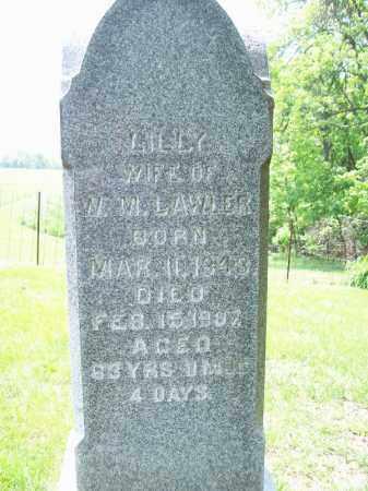BURNSIDE LAWLER, LILLY - Schuyler County, Illinois | LILLY BURNSIDE LAWLER - Illinois Gravestone Photos