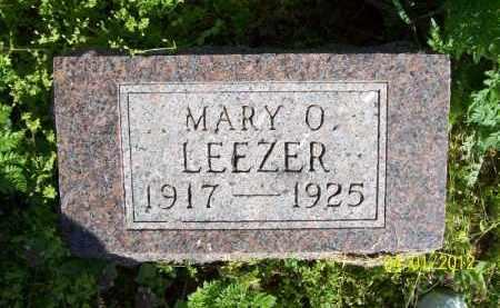 LEEZER, MARY O - Schuyler County, Illinois | MARY O LEEZER - Illinois Gravestone Photos