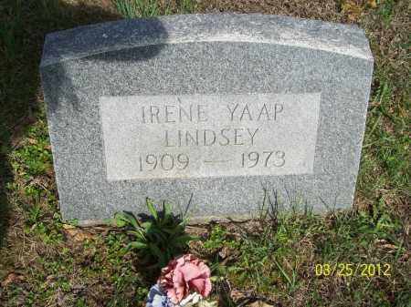 LINDSEY, IRENE - Schuyler County, Illinois | IRENE LINDSEY - Illinois Gravestone Photos