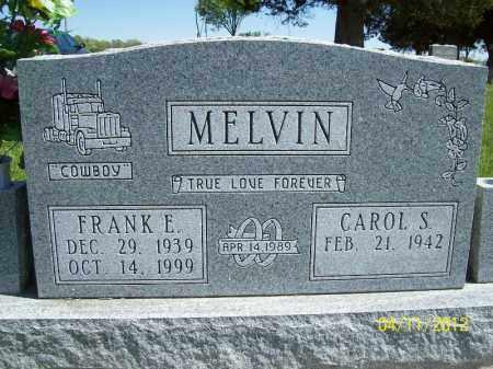 MELVIN, CAROL S. - Schuyler County, Illinois   CAROL S. MELVIN - Illinois Gravestone Photos