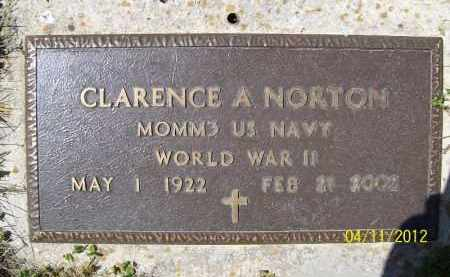 NORTON, CLARENCE A. (MIL) - Schuyler County, Illinois | CLARENCE A. (MIL) NORTON - Illinois Gravestone Photos