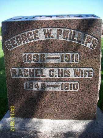 PHILLIPS, RACHEL C. - Schuyler County, Illinois | RACHEL C. PHILLIPS - Illinois Gravestone Photos