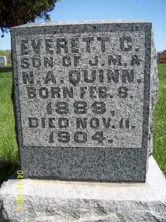 QUINN, EVERETT C. - Schuyler County, Illinois   EVERETT C. QUINN - Illinois Gravestone Photos