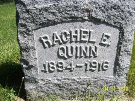 QUINN, RACHEL E. - Schuyler County, Illinois | RACHEL E. QUINN - Illinois Gravestone Photos