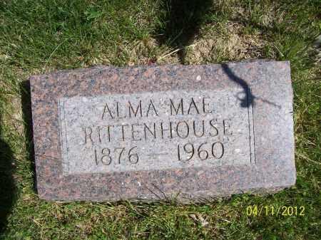 RITTENHOUSE, ALMA MAE - Schuyler County, Illinois   ALMA MAE RITTENHOUSE - Illinois Gravestone Photos