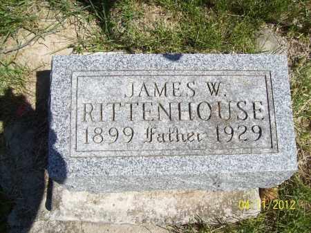 RITTENHOUSE, JAMES W. - Schuyler County, Illinois | JAMES W. RITTENHOUSE - Illinois Gravestone Photos