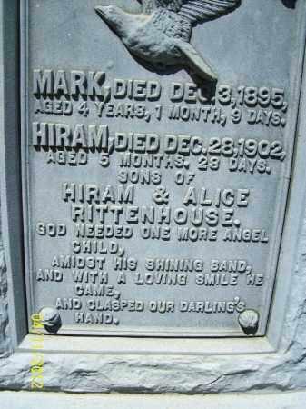 RITTENHOUSE, HIRAM - Schuyler County, Illinois   HIRAM RITTENHOUSE - Illinois Gravestone Photos