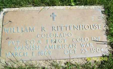 RITTENHOUSE, WILLIAM R. (MIL) - Schuyler County, Illinois   WILLIAM R. (MIL) RITTENHOUSE - Illinois Gravestone Photos
