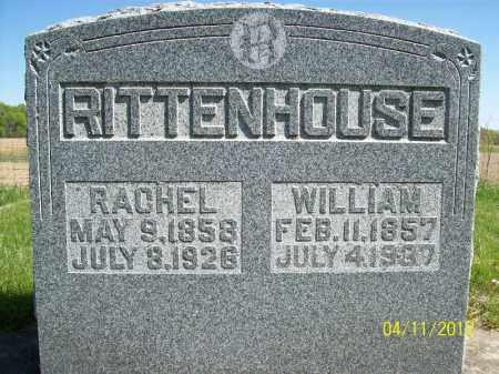 RITTENHOUSE, WILLIAM - Schuyler County, Illinois | WILLIAM RITTENHOUSE - Illinois Gravestone Photos