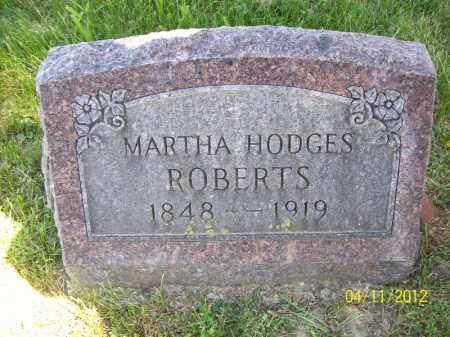 ROBERTS, MARTHA - Schuyler County, Illinois | MARTHA ROBERTS - Illinois Gravestone Photos