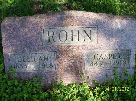 ROHN, DELILAH - Schuyler County, Illinois   DELILAH ROHN - Illinois Gravestone Photos