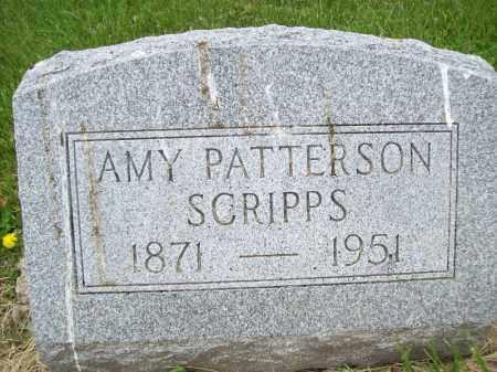 SCRIPPS, AMY - Schuyler County, Illinois | AMY SCRIPPS - Illinois Gravestone Photos