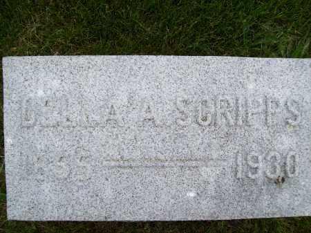 SCRIPPS, DELLA A. - Schuyler County, Illinois   DELLA A. SCRIPPS - Illinois Gravestone Photos